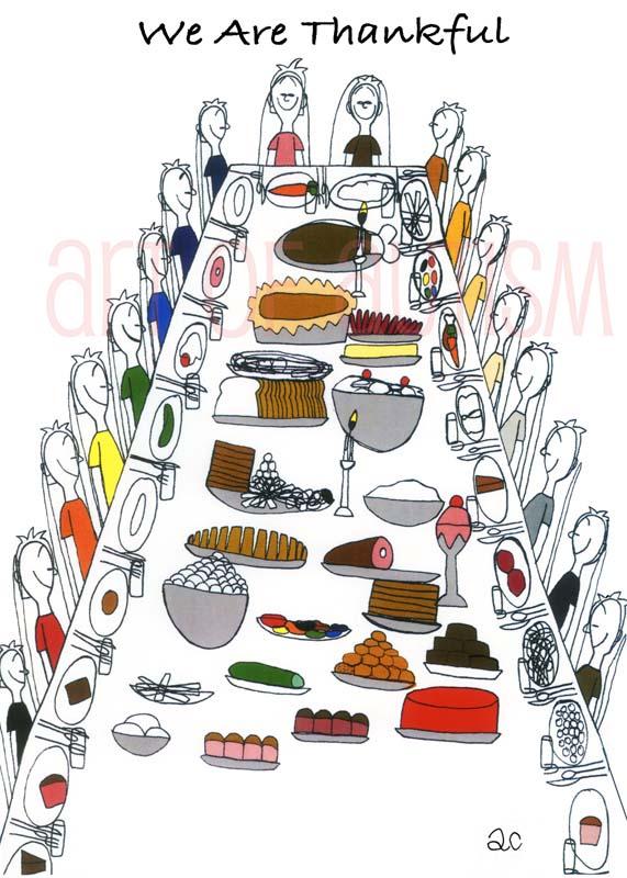 08-033 Thanksgiving Dinner