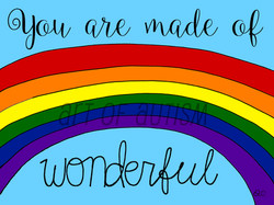 19-023 Wonderful Rainbow