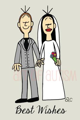 15-015 Bride & Groom