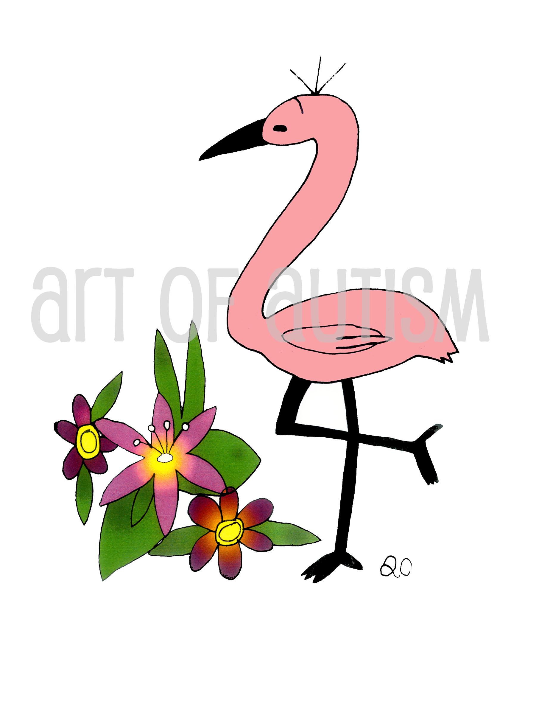 11-007 Flamingo