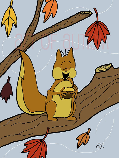 13-025 Squirrel