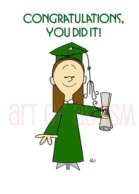 18-009 Girl Graduate