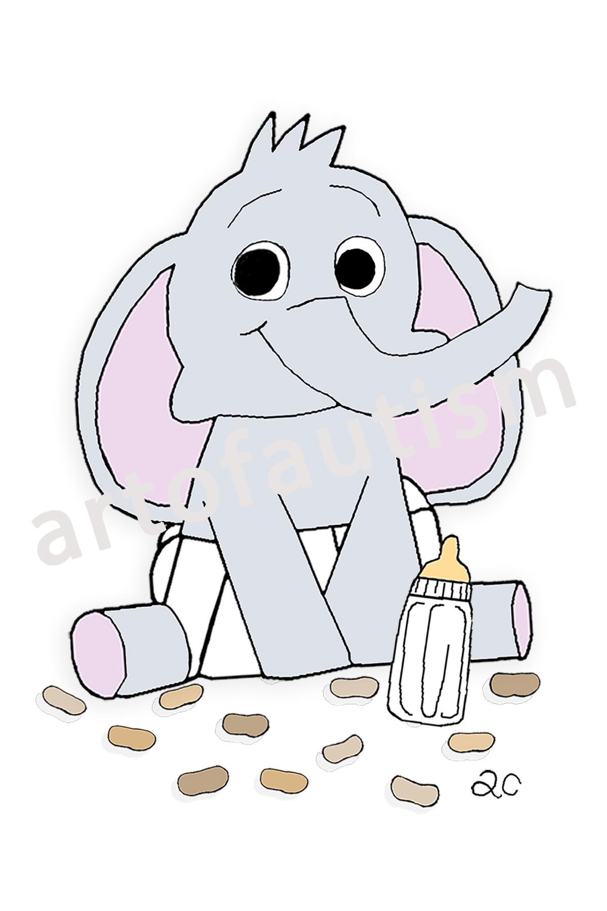 16-005 Baby Elephant