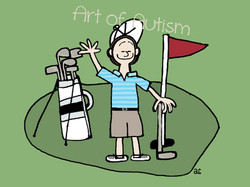 golfing - web