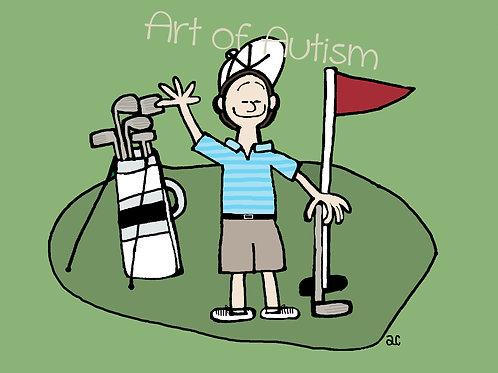 21-020 Golfing