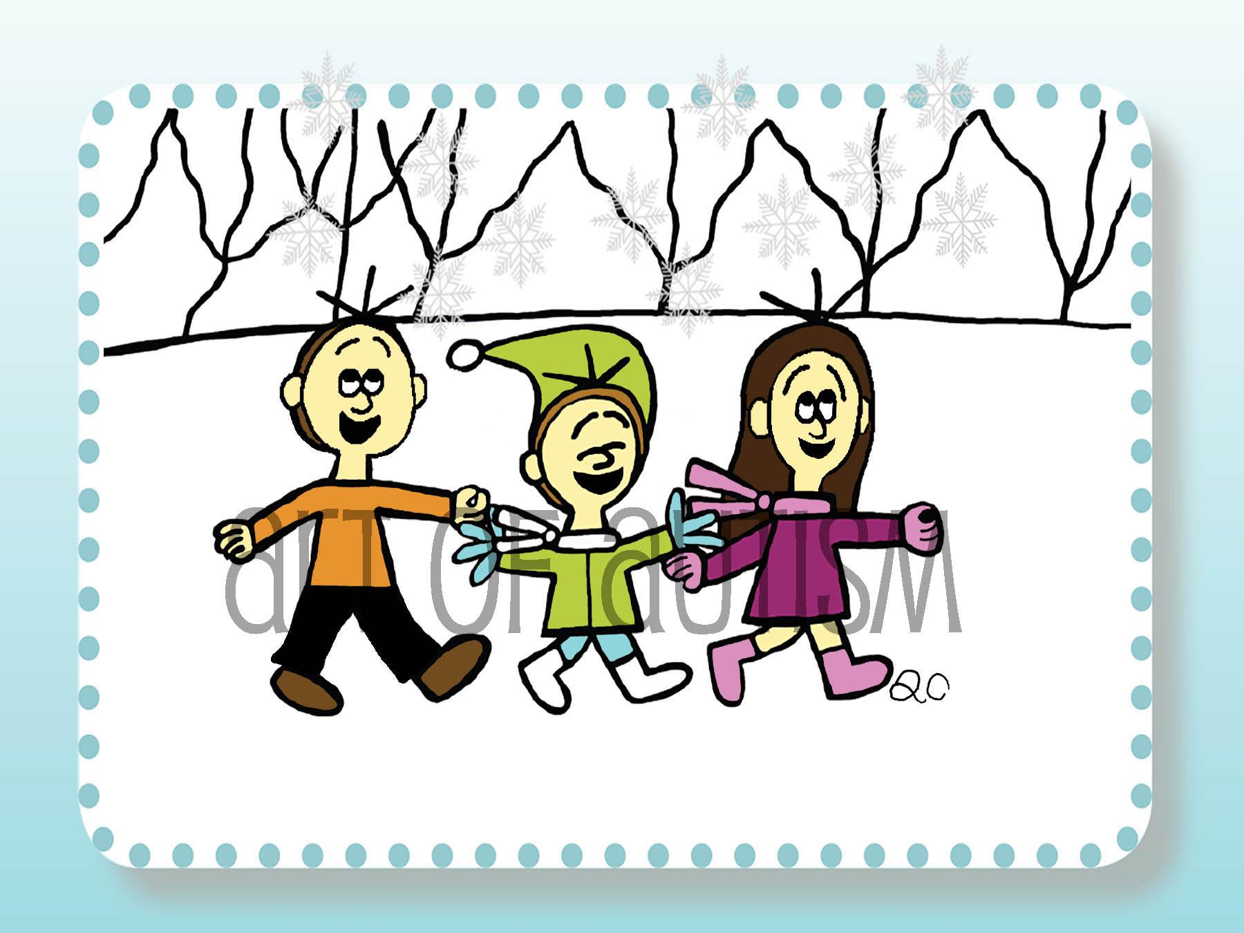 17-016 Snowy Outside
