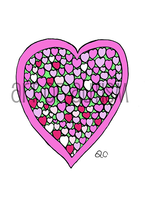 13-003 Heart Love