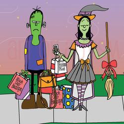 15-023 Frankenstein & Witch