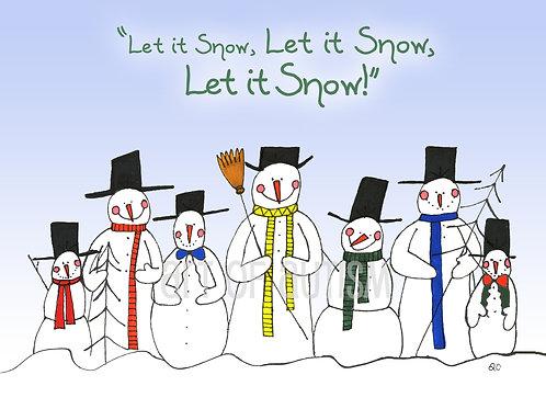 11-036 Snowmen