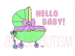 11-010 Baby Buggy
