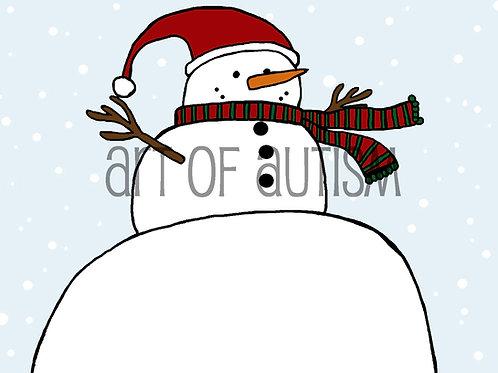 20-010 Big Snowman