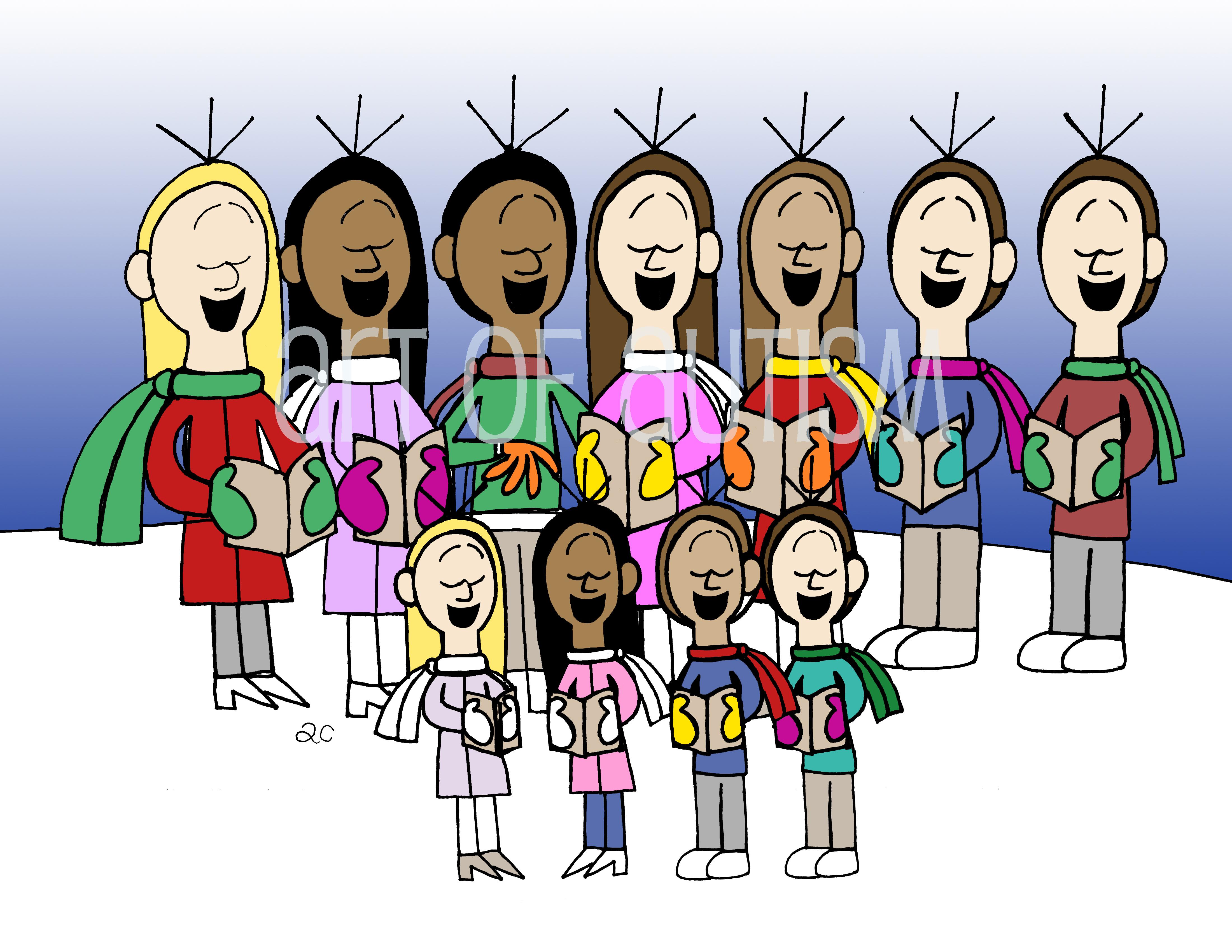 15-031 Sing Christmas Carolers