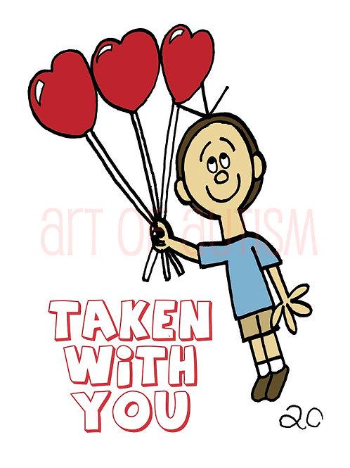 14-001 Balloon Love