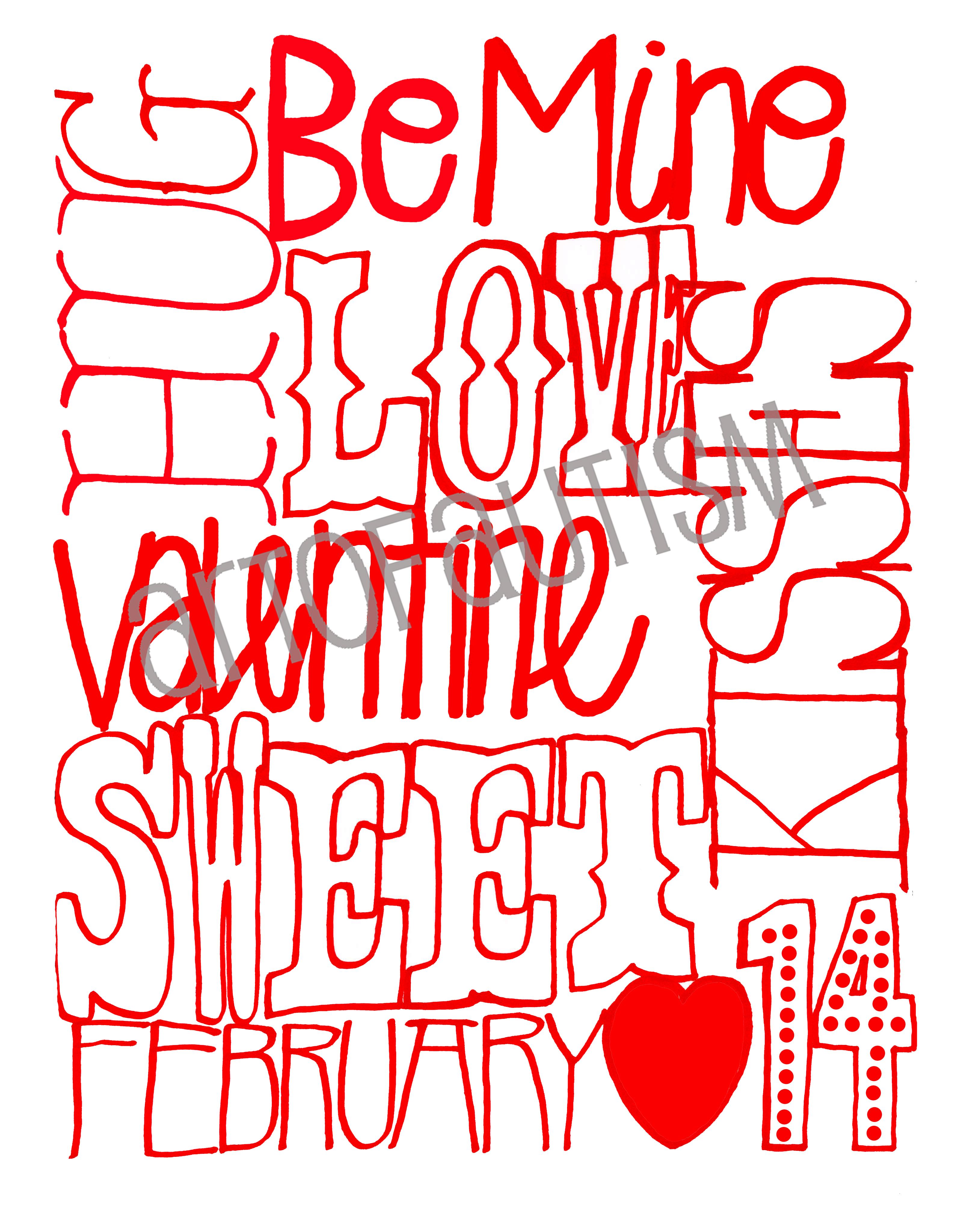15-001 Red Valentine