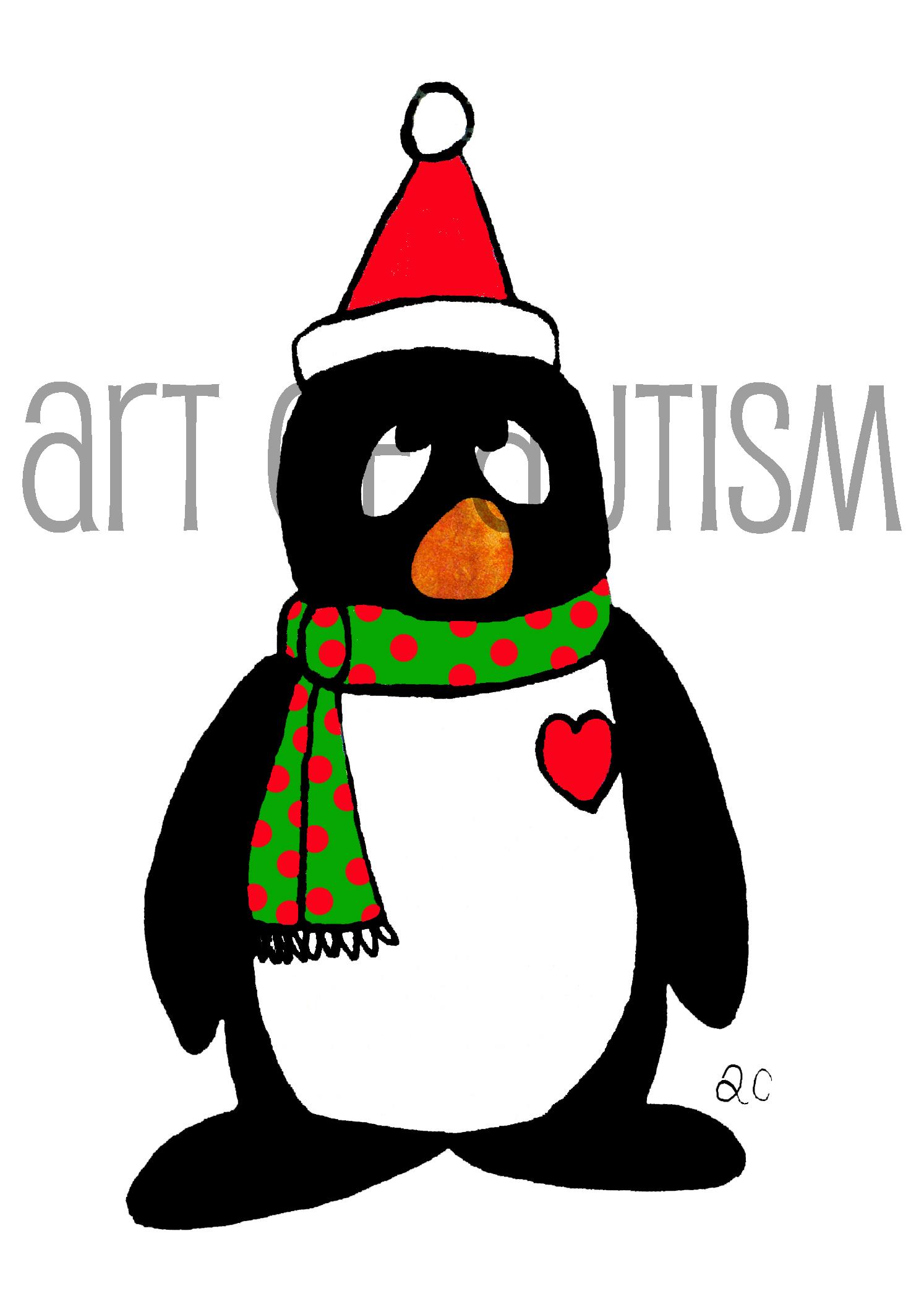 12-036 Christmas Penguin