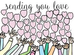 Sending You Love - web