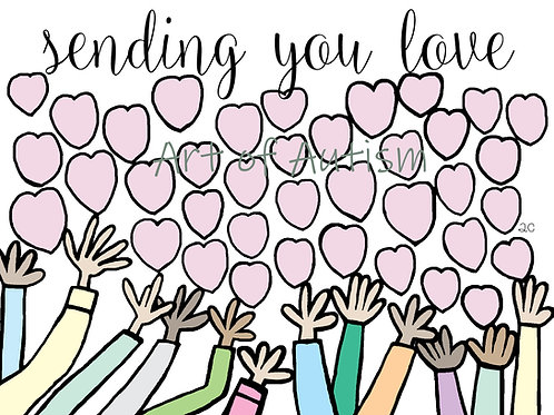 21-012 Sending You Love