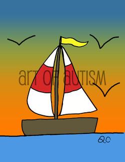 13-004 Sailboat