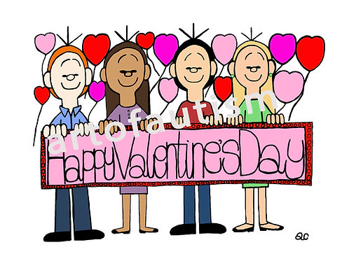 16-001 Valentine Sign
