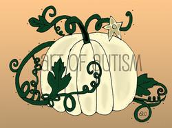 20-020 White Pumpkin