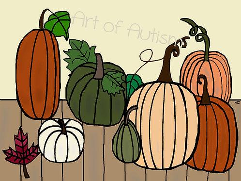 21-024  Fall Pumpkins