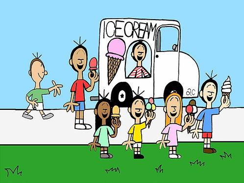 14-010 Ice Cream Truck