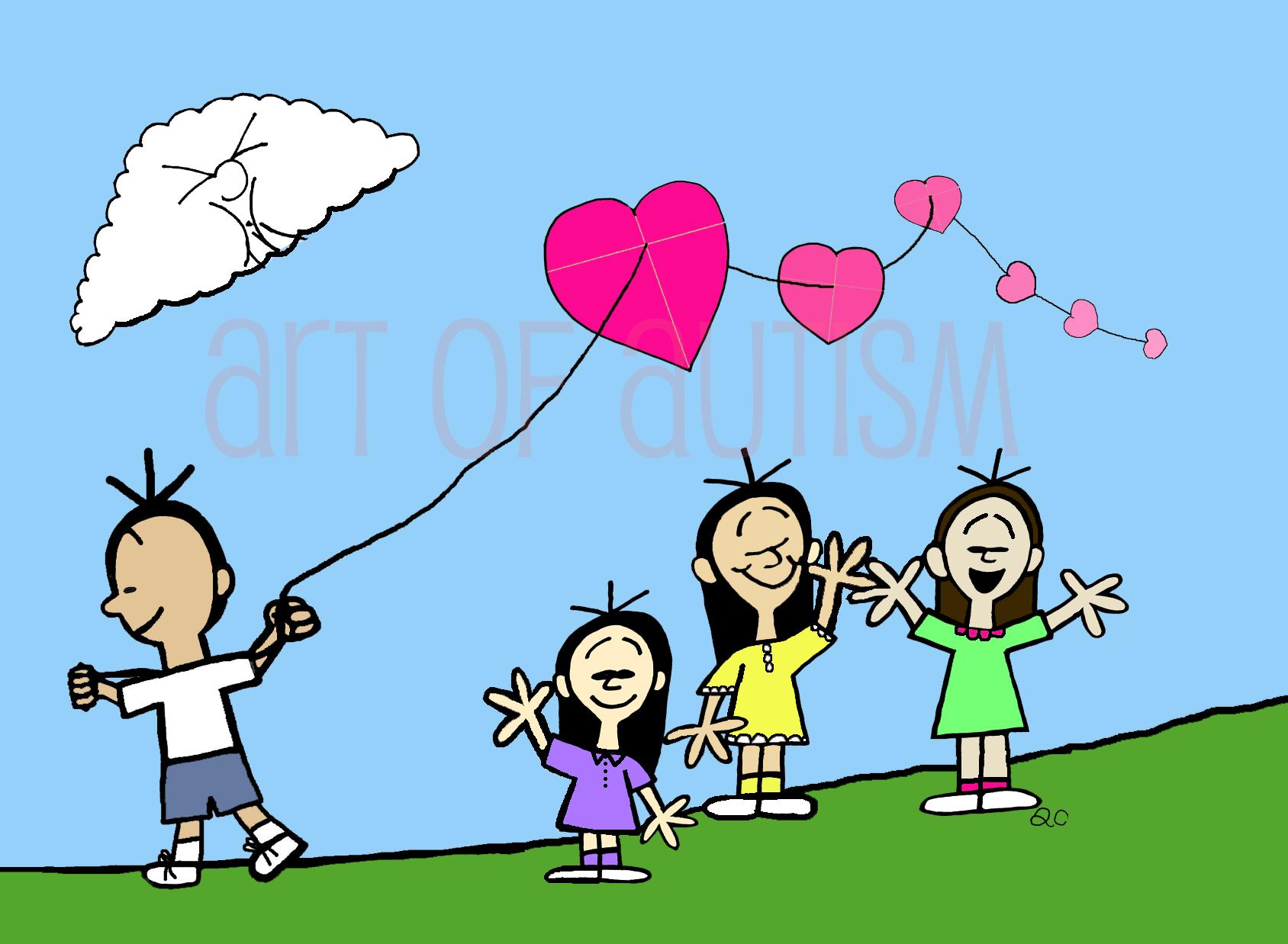 17-002 Valentine Kite