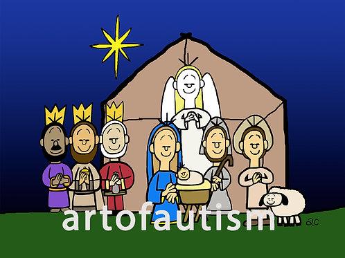 16-013 The Nativity