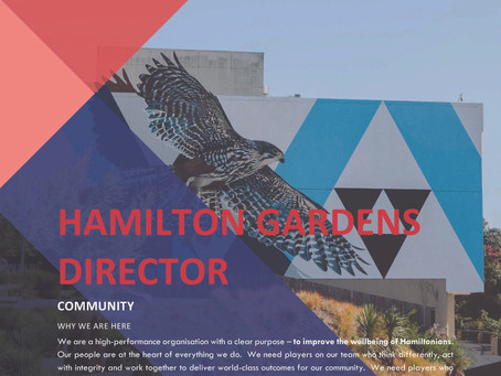 Job Vacancy: Hamilton Gardens Director