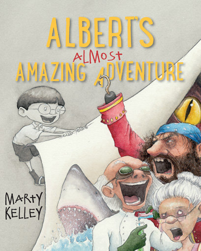 Albert's Almost Amazing Adventure (Signed Edition)