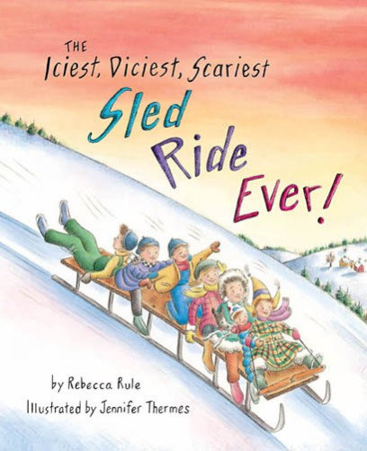 The Iciest, Diciest, Scariest Sled  Ride Ever!