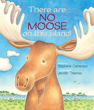 There are No Moose on this Island!