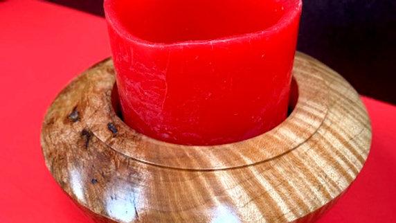 Hard Maple Burl Bowl