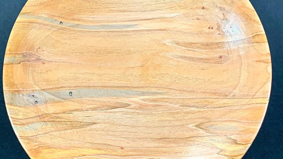 Item 3-14: Ambrosia Maple Plate on Pedestal