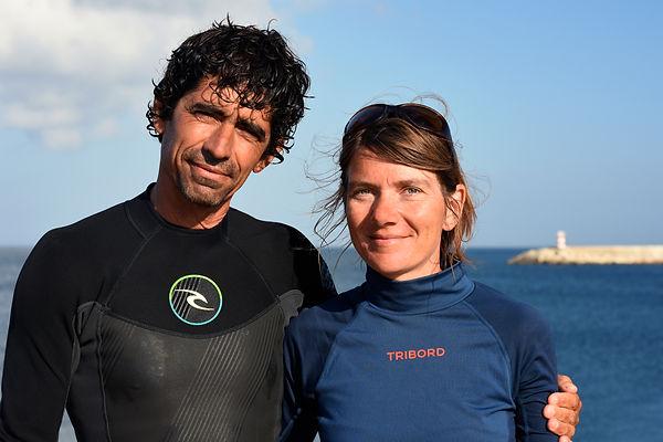 Amandio & Anke in Sagres, Portugal (15.0