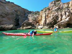 relaxing kayak tour