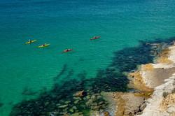 kayak tour from Lagos to Sagres