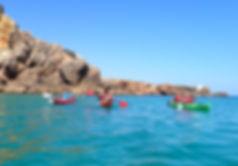 sagres kayak tour