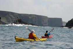 paddling on the west coast