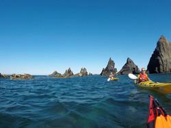 Kayaking at Costa Vicentina