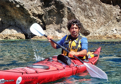 guide sea kayaking sagres