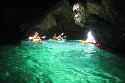Sea Kayak Cave Tour