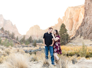 Smith Rock Couples Session {Caitlyn & Dalton}