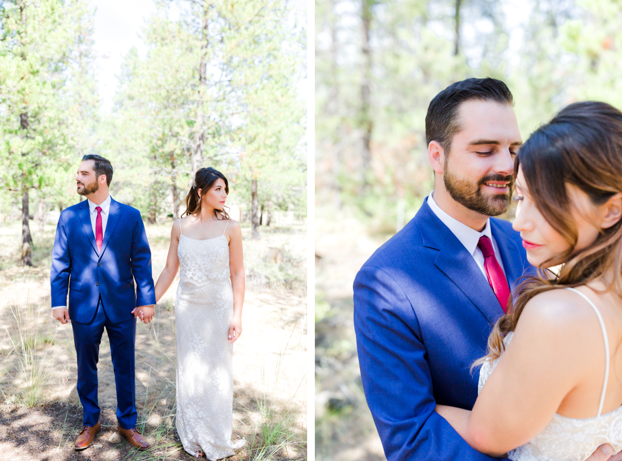 Sunriver wedding at private residence
