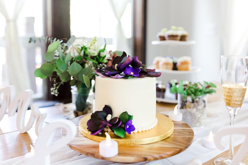 Market of Choice wedding cake