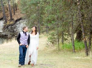Douglas & Joni's Wedding in the Woods
