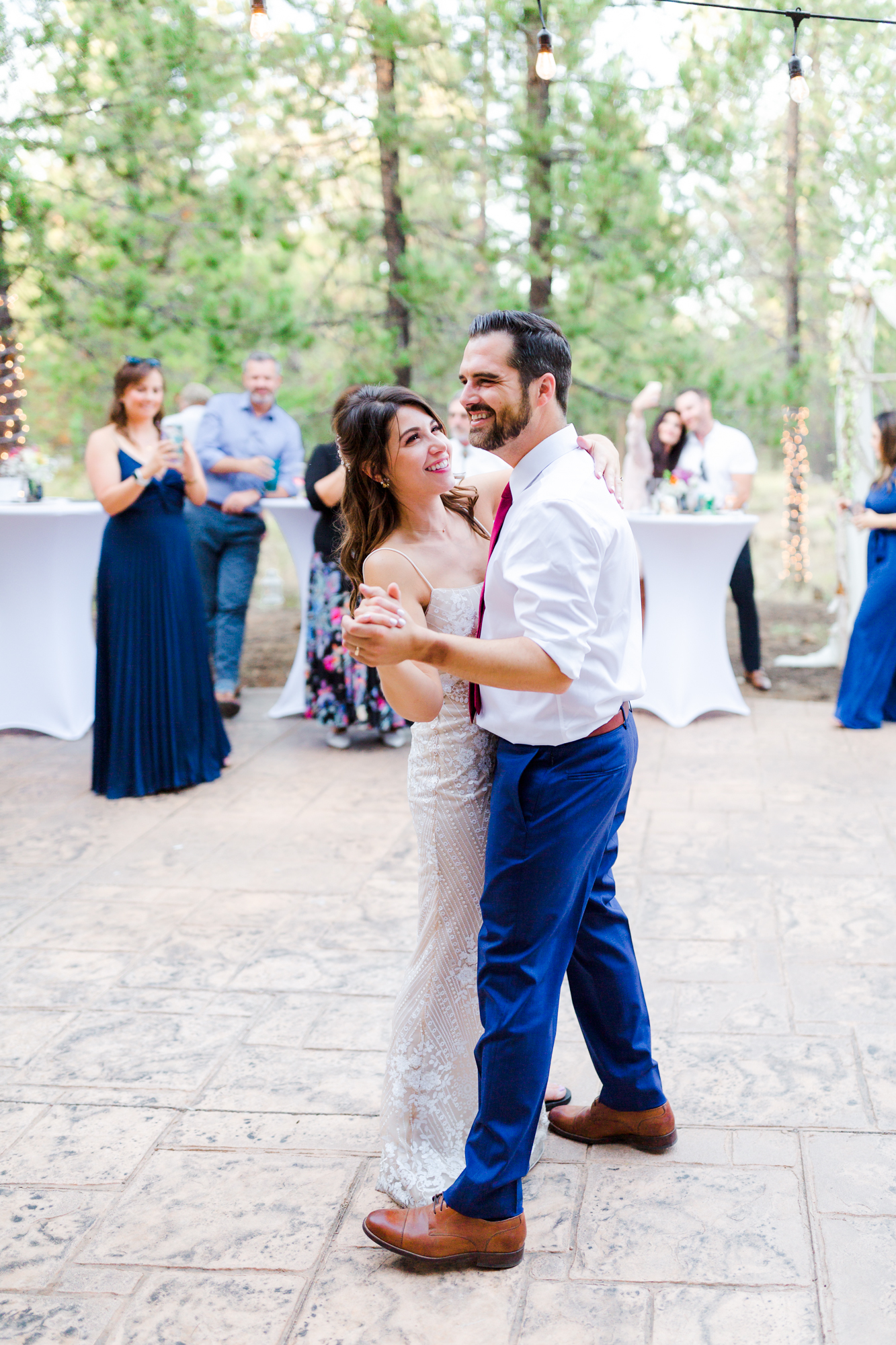 First dance at Sunriver Oregon Wedding