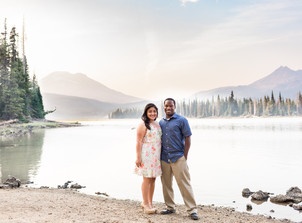 Smoky Sparks Lake Engagement Session {Lydia & Marcus}