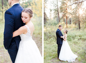Wedding in Shevlin Park {Lexi & Brendan}