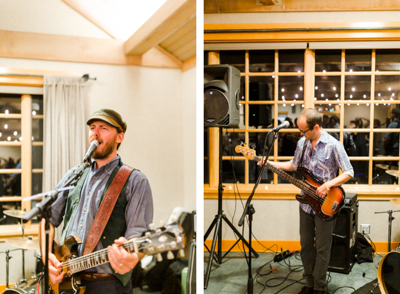 Letterbetter Band Bend Oregon playing during wedding